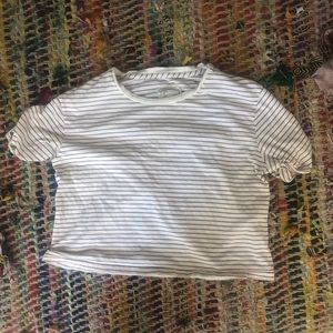 Current Elliot boxy cropped tee